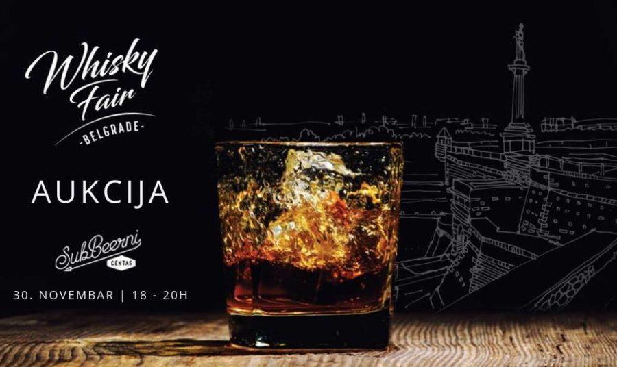 Aukcija otvorenih flaša viskija u SubBeernom Centru