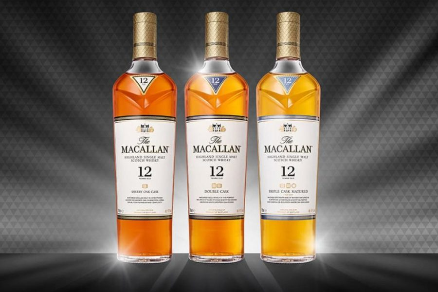 The Macallan Age Range Double Cak 12 Years Old i Triple Cask 15 Years Old na trećem Viski sajmu