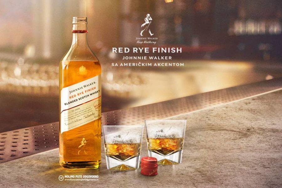 Johnnie Walker Red Rye Finish Blended Scotch Whisky na trećem Viski sajmu