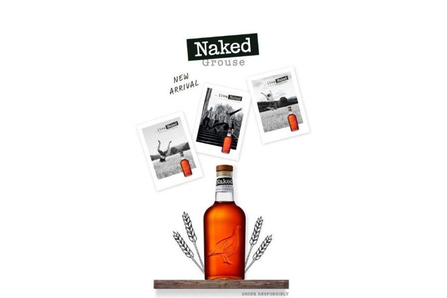 Naked Grouse Blended Malt Scotch Whisky premijerno na našem tržištu na trećem Viski sajmu