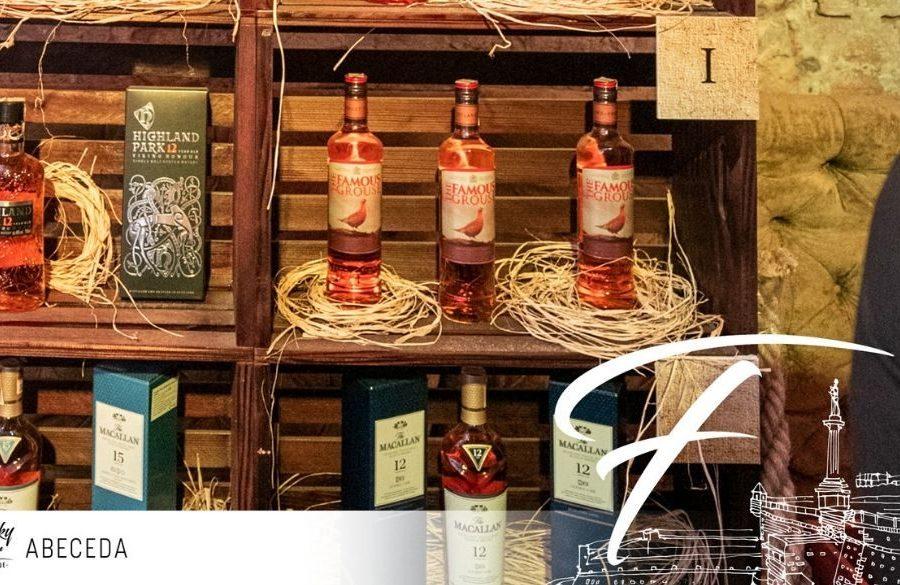 2 brenda na slovo F – Whisky Fair Abeceda