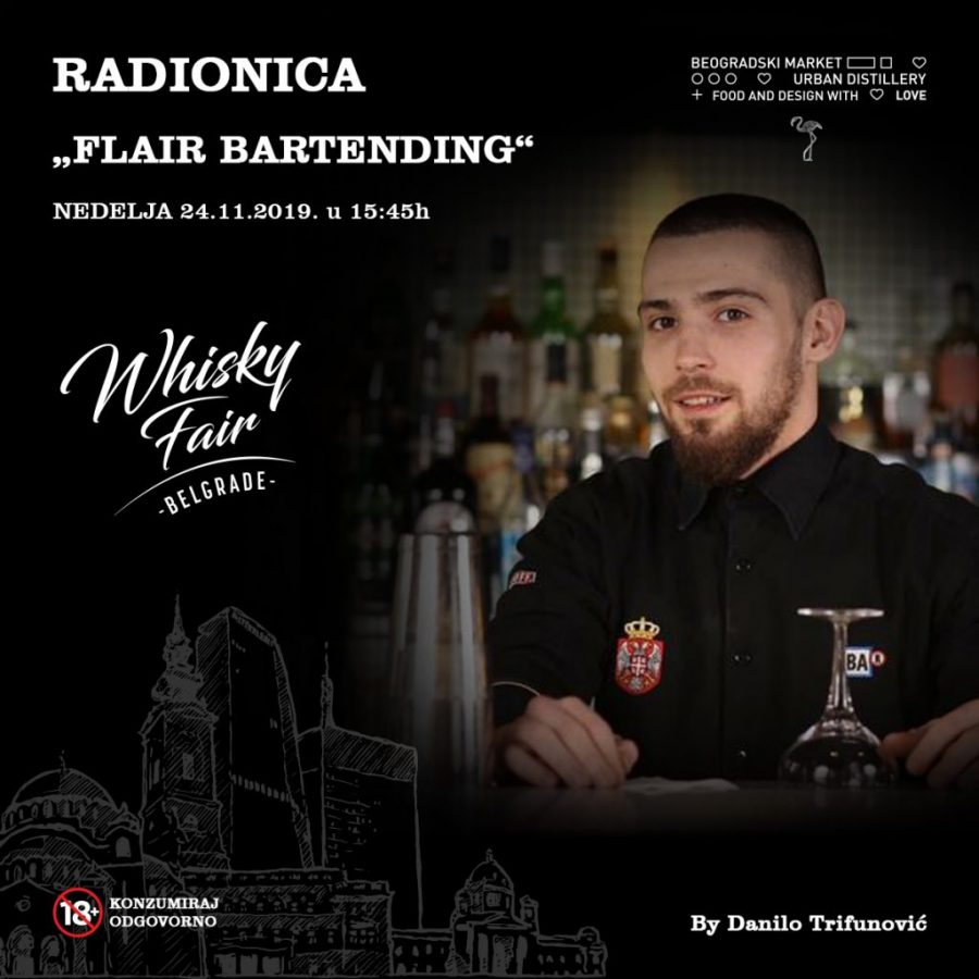 FB post 1200x1200px - Flair Bartending - radionice
