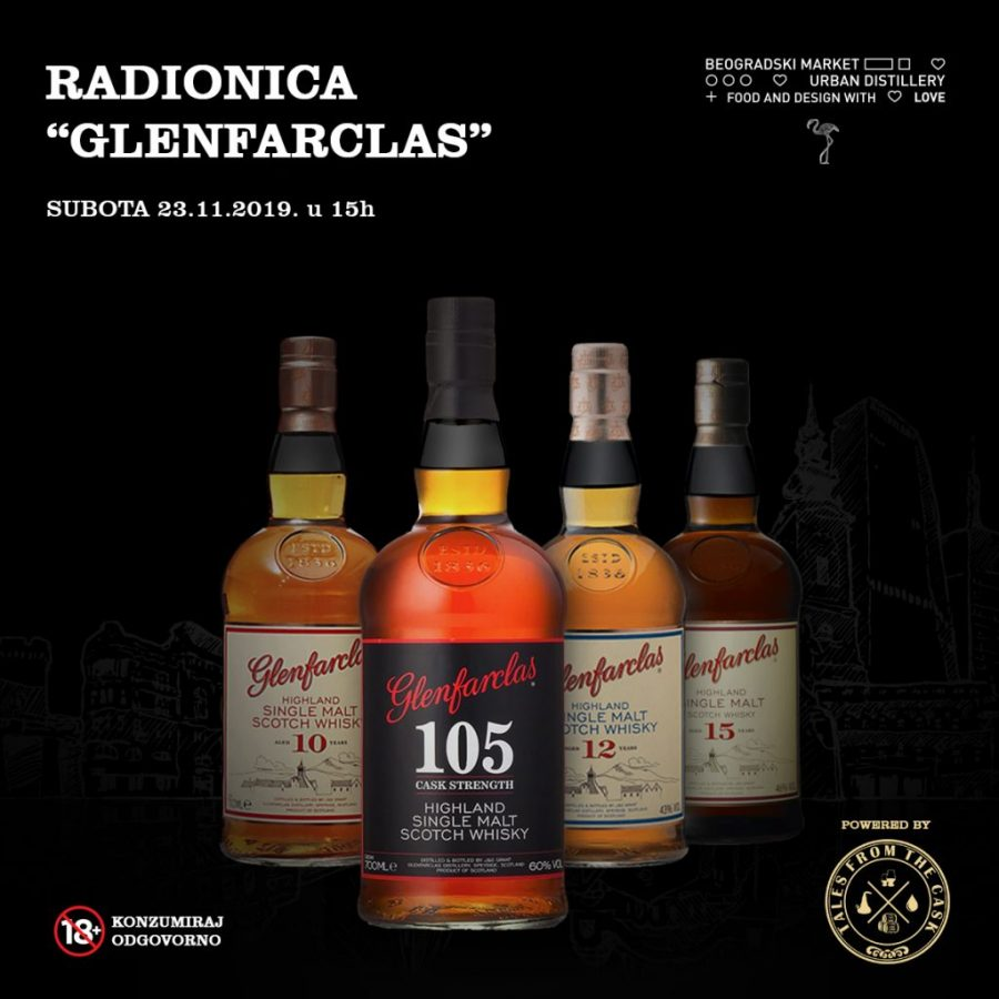 FB post 1200x1200px - Glenfarclas - radionice