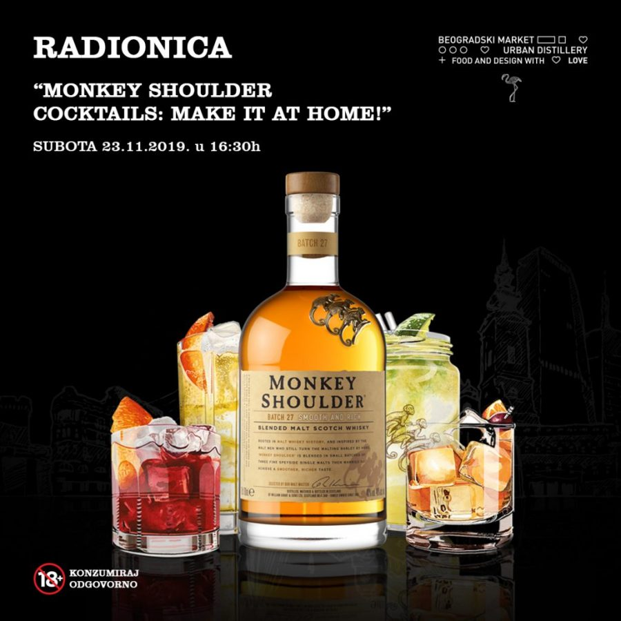FB post 1200x1200px - Monkey Shoulder - radionice