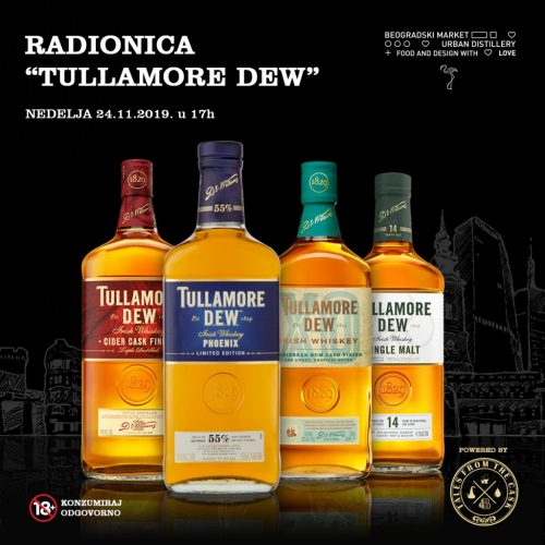 FB post 1200x1200px - Tulamore DEW - radionice